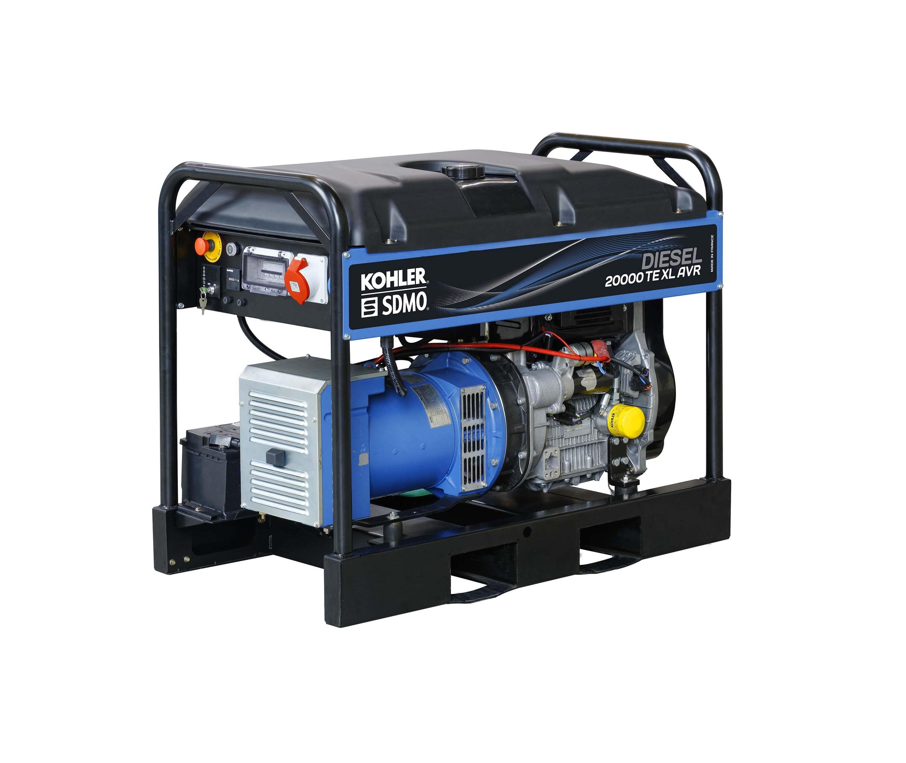 Дизельный генератор (электростанция) SDMO DIESEL 20000 TE XL AVR C