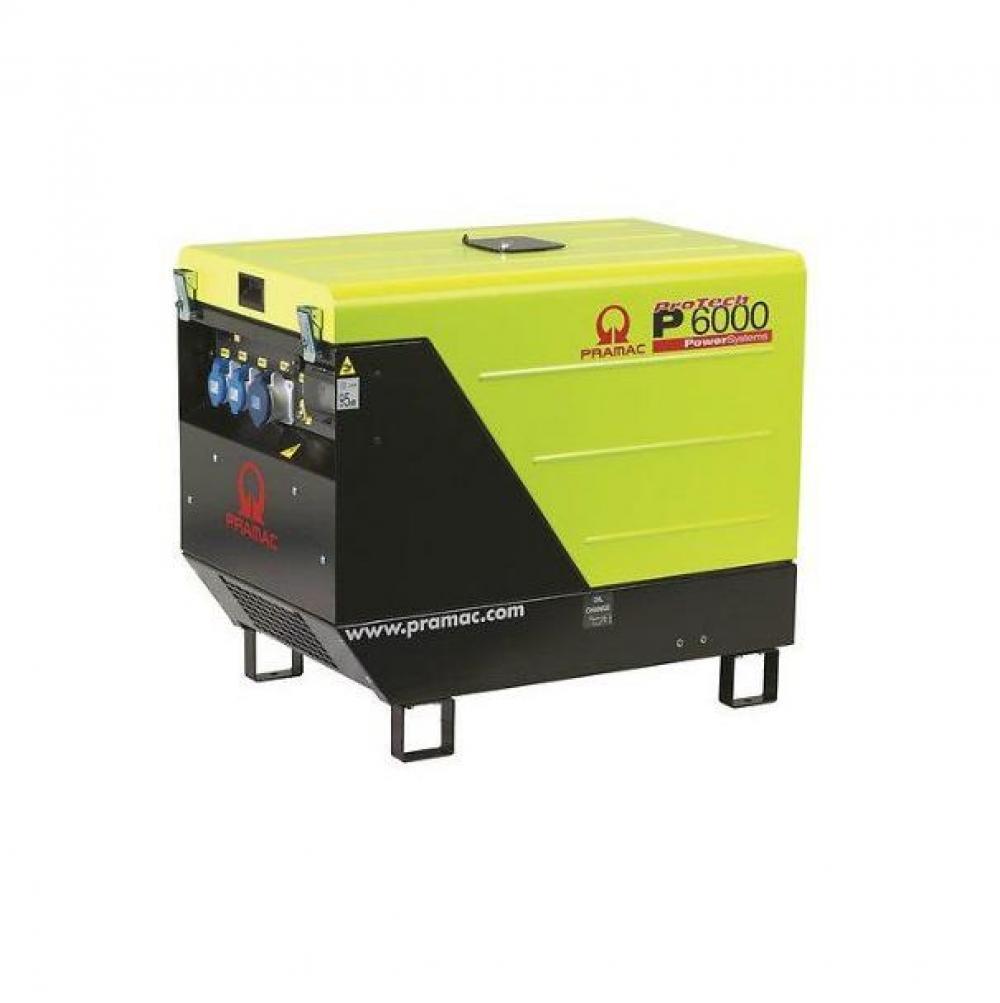 Дизельный генератор (электростанция) Pramac P6000, 400/230V, 50Hz #CONN #DPP