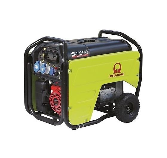 Бензиновый генератор (Бензогенератор) Pramac S5000, 230V, 50Hz #AVR #CONN