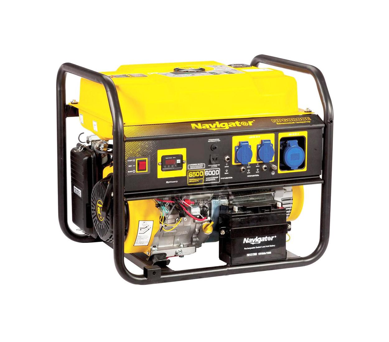 Бензиновый генератор (Бензогенератор) Firman NAVIGATOR NPG8800E