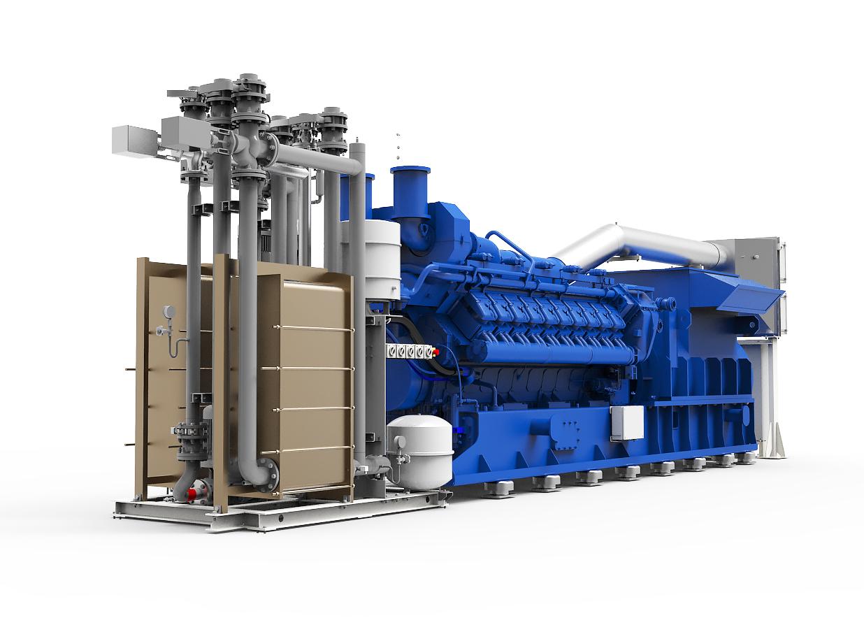 Газопоршневая электростанция (ГПУ) PowerLink TGE2000-NG