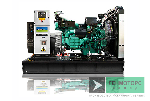 Дизельный генератор (электростанция) AKSA AVP350