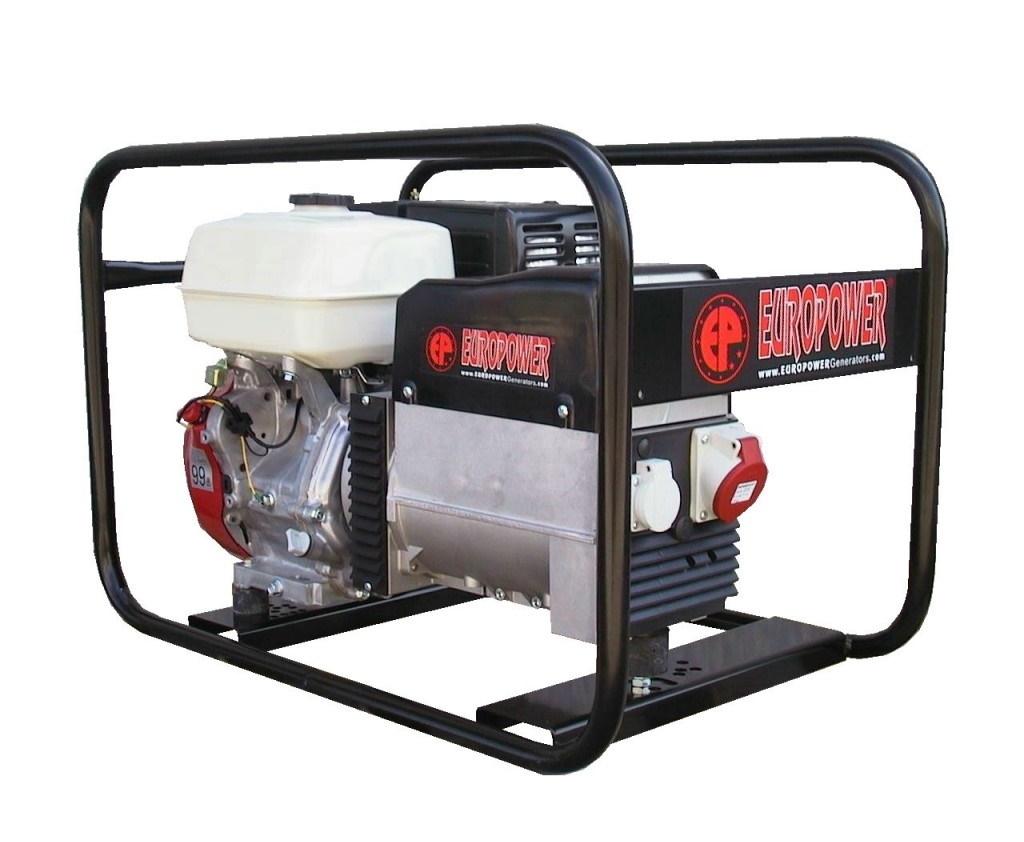 Бензиновый генератор (Бензогенератор) Europower EP 6500 T