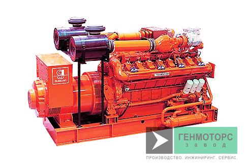 Газопоршневая электростанция (ГПУ) Guascor FG180