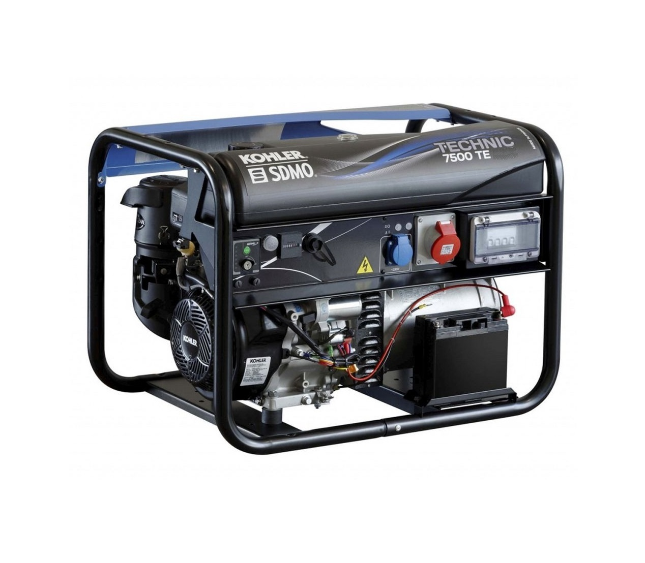 Бензиновый генератор (Бензогенератор) SDMO TECHNIC 7500 TE