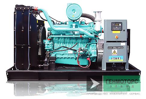 Газопоршневая электростанция (ГПУ) AKSA ADG365C