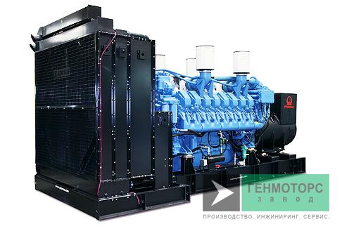 Дизельный генератор (электростанция) Pramac GSW1100M