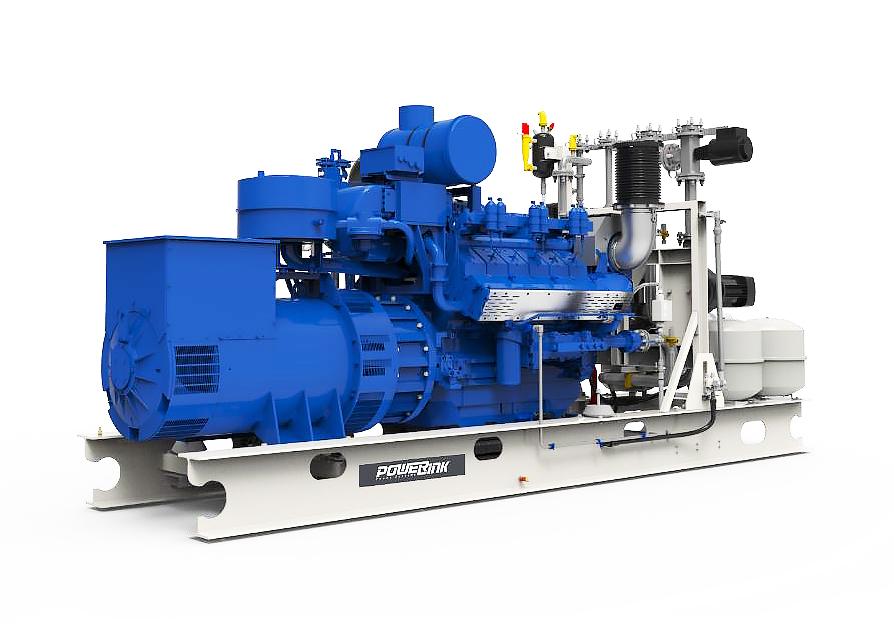 Газопоршневая электростанция (ГПУ) PowerLink CG1000S-NG