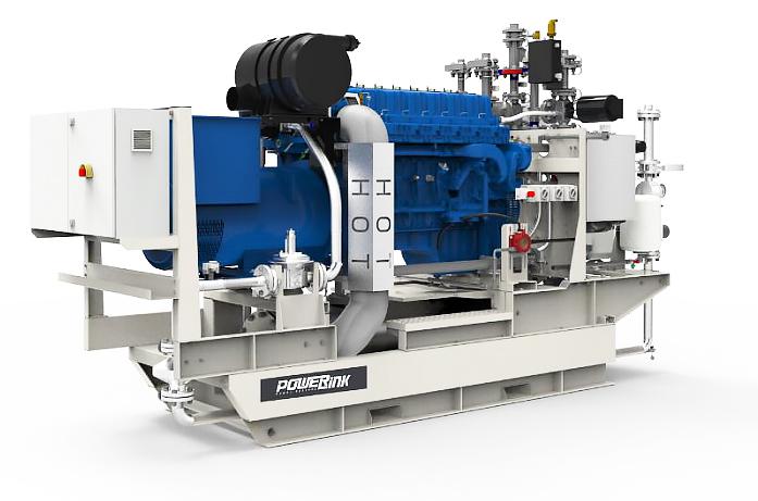 Газопоршневая электростанция (ГПУ) PowerLink CG70S-NG
